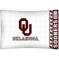Oklahoma Sooners Standard Pillowcase