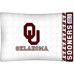 Oklahoma Sooners Standard Pillowcase