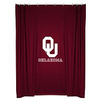 Oklahoma Sooners Shower Curtain