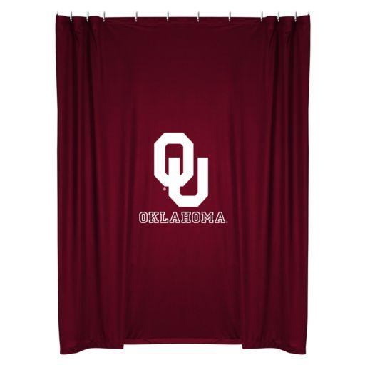Oklahoma Sooners Shower Curtain