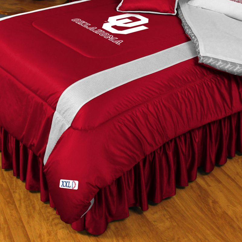 Oklahoma Sooners Comforter - Twin, Red