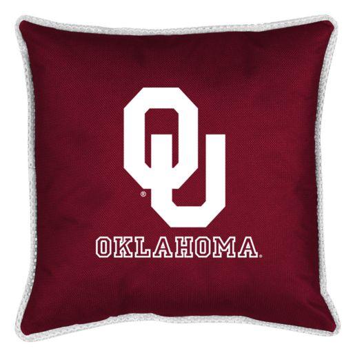 Oklahoma Sooners Decorative Pillow