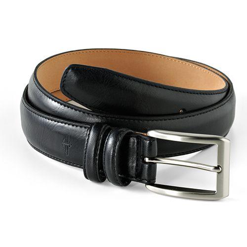 Dockers® Logo Leather Belt