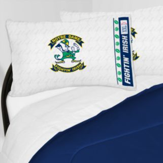 Notre Dame Fighting Irish Sheet Set - Twin