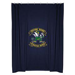 Notre Dame Fighting Irish Shower Curtain