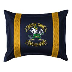 Notre Dame Fighting Irish Standard Pillow Sham