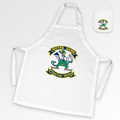 Notre Dame Fighting Irish Tailgate Apron and Potholder Set