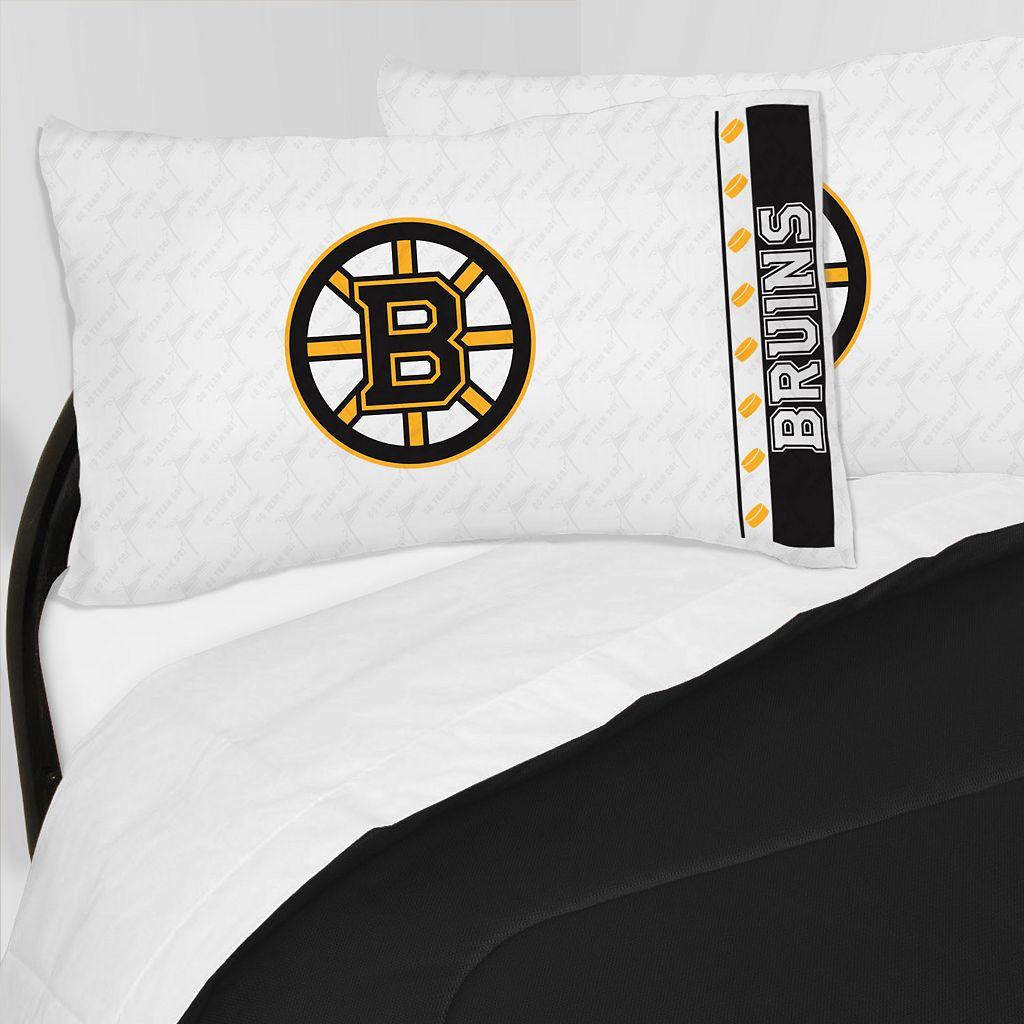 Boston Bruins Sheet Set - Queen