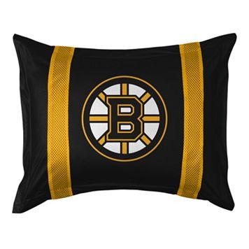 Boston Bruins Standard Pillow Sham