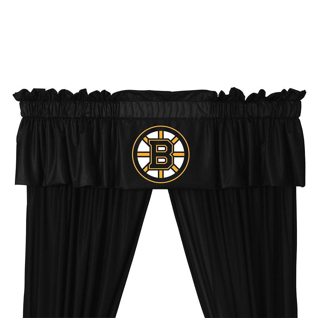 Boston Bruins Valance - 14'' x 88''