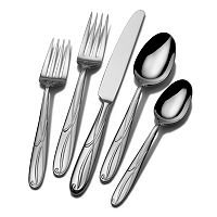 Mikasa Cocoa Blossom 18/10 Stainless Steel 65 pc Flatware Set