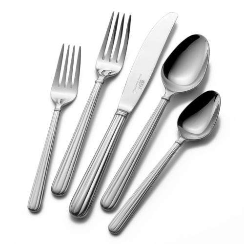 Mikasa Italian Countryside 18/10 Stainless Steel 45-pc. Flatware Set