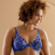 Playtex Secrets® Side Smoothing Full-Figure Embroidered Underwire Bra - 4513