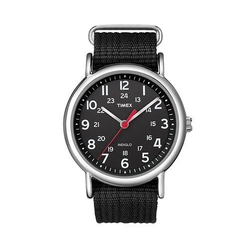 Timex unisex weekender watch t2n647ky for Watches kohls