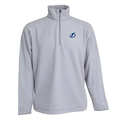 Tampa Bay Lightning Frost 1/4-Zip Fleece Pullover Jacket