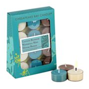 12-pk. Cotton Blossom, Waterfall Mist and Hinoki Bonsai Tealight Candles