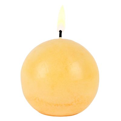 Orchid and Guava 3.5-in. Sphere Candle