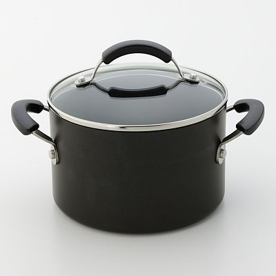Food Network 3-qt. Hard-Anodized Covered Soup Pot