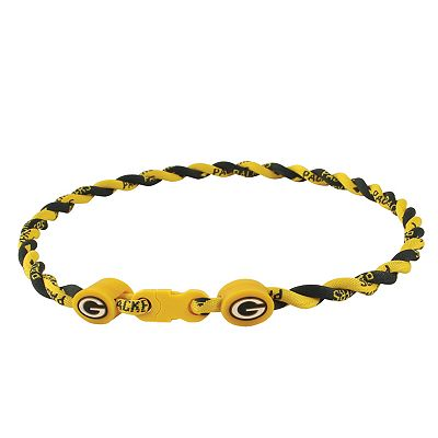 Green Bay Packers 21-inch Twist Titanium Sport Necklace