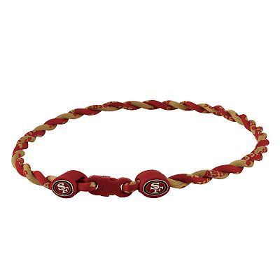 San Francisco 49ers 18-inch Twist Titanium Sport Necklace