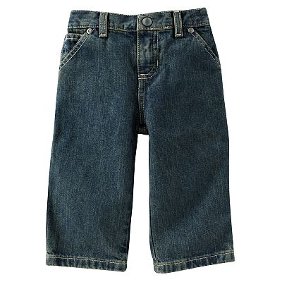 SONOMA life + style Back-Elastic Carpenter Jeans - Infant