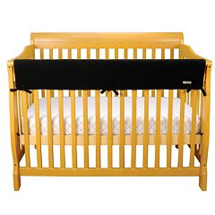 Trend Lab Solid Convertible Fleece Crib Rail Cover