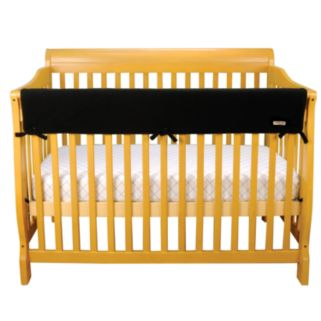 Trend Lab Solid Convertible Fleece Crib Rail Cover