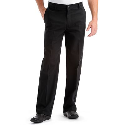 Lee Comfort Fit Relaxed-Fit Flat-Front Pants
