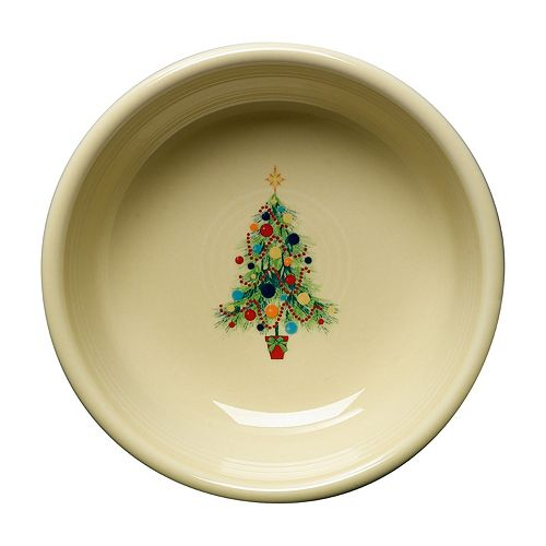 Fiesta Ivory Holiday Small Bowl