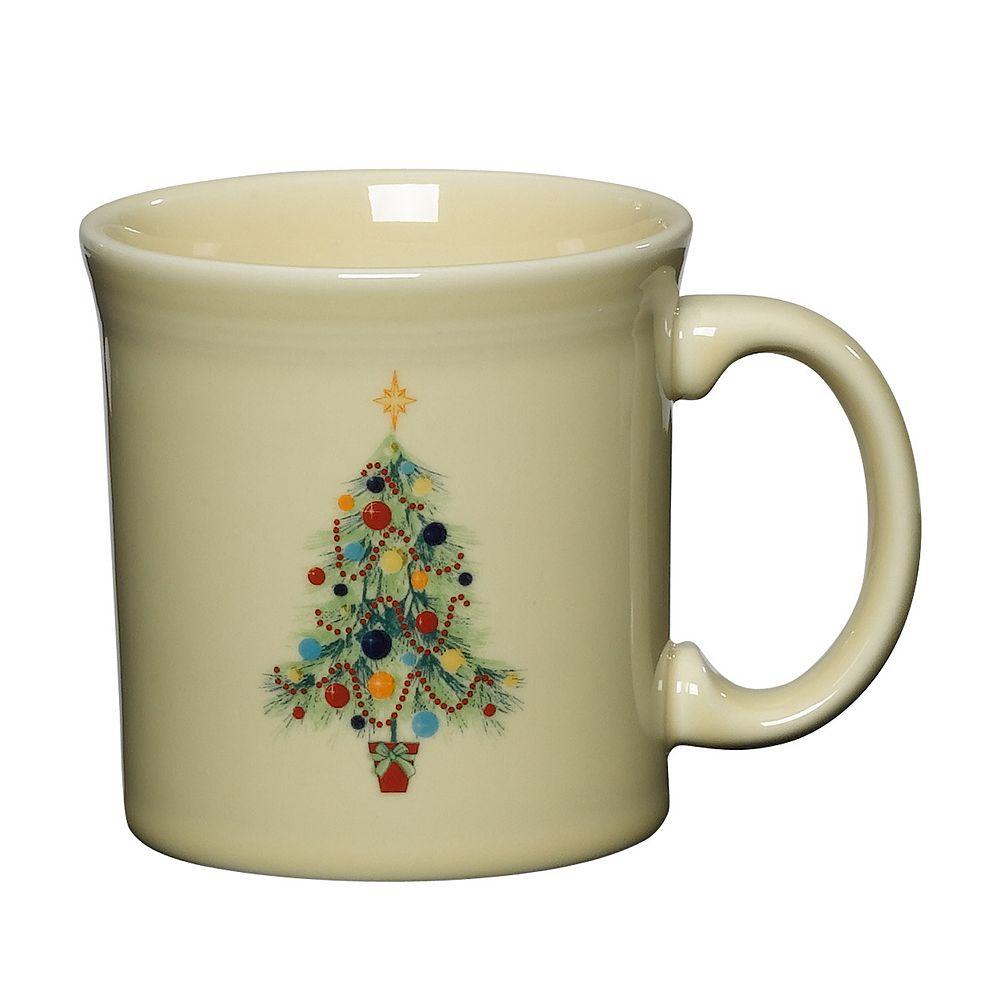 Fiesta Ivory Holiday Java Mug