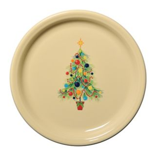 Fiesta Ivory Holiday Buffet Plate