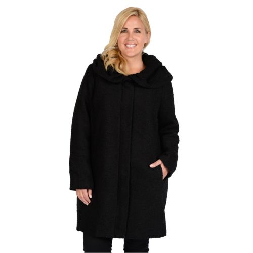 Plus Size Excelled Hooded Bouc...