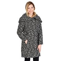 Excelled Hooded Boucle Jacket - Women's