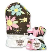 Trend Lab Blossoms 6-pc. Hooded Towel and Washcloth Bouquet Set