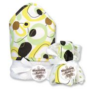 Trend Lab Giggles Dot 6-pc. Hooded Towel and Washcloth Bouquet Set
