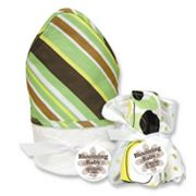 Trend Lab Giggles Stripe 6-pc. Hooded Towel and Washcloth Bouquet Set