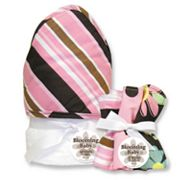Trend Lab Maya Stripe 6-pc. Hooded Towel and Washcloth Bouquet Set