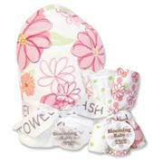 Trend Lab Hula Baby 6-pc. Hooded Towel and Washcloth Bouquet Set