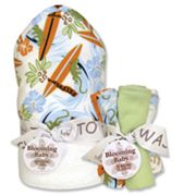 Trend Lab Surf's Up 6-pc. Hooded Towel and Washcloth Bouquet Set