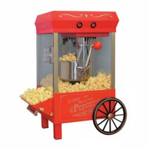 Nostalgia Electrics Old-Fashioned Kettle Popcorn Maker