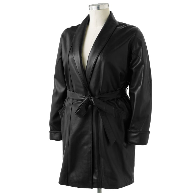Excelled Leather Coat - Women's Plus
