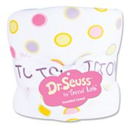 Dr. Seuss Oh The Places You'll Go Hooded Towel by Trend Lab - Pink