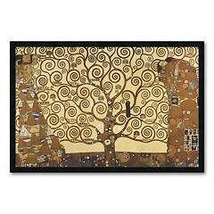 'The Tree of Life, 1905-1911' Framed Art Print by Gustav Klimt