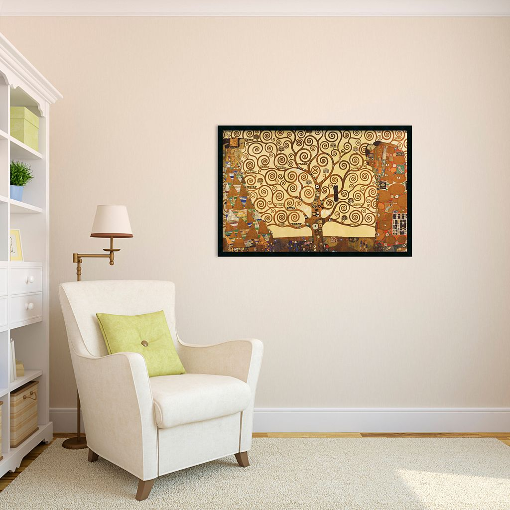 The Tree of Life, 1905-1911 Framed Art Print by Gustav Klimt