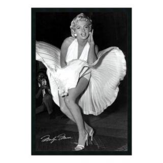 Marilyn in New York, 1954 Framed Poster by Matthew Zimmerman