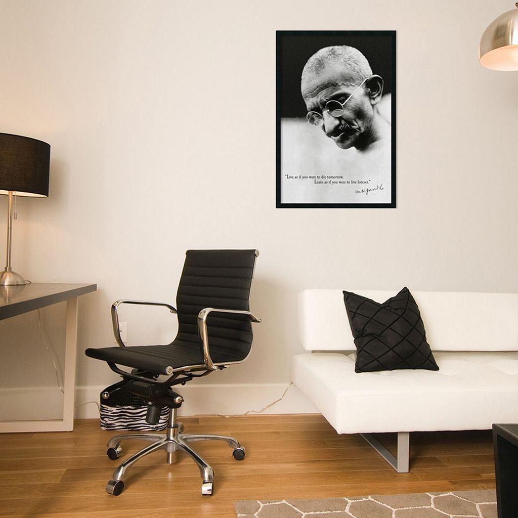 Gandhi - Live Forever Framed Poster