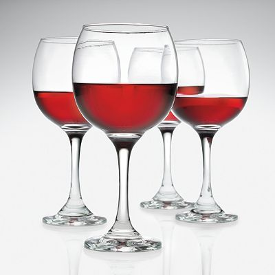 SONOMA life + style 4-pk. Red Wine Glasses