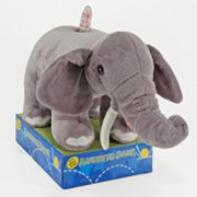 Animated Plush Elephant Bank