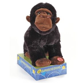 Animated Plush Gorilla Bank