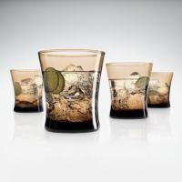 SONOMA life + style® Mocha 4-pk. Double Old-Fashioned Glasses